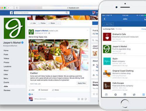 Encontrar trabajo desde Facebook