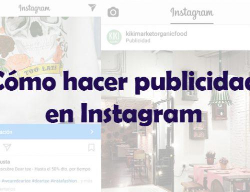 Publicidad en Internet: cómo hacer publicidad en Instagram