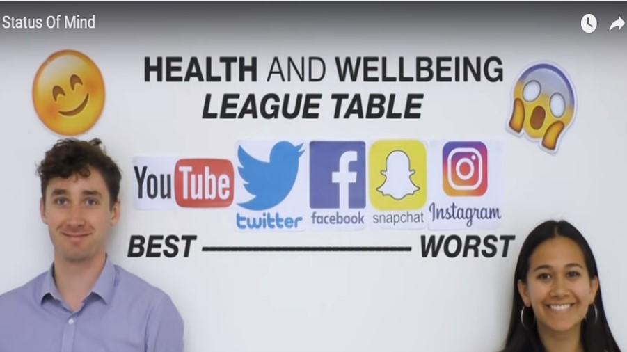 Instagram, la red social más nociva para la salud mental de los jóvenes