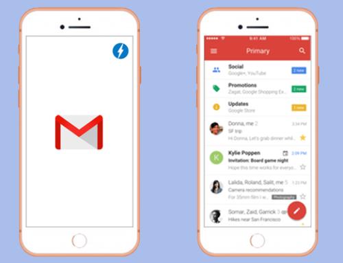 Las AMP llegan a Gmail
