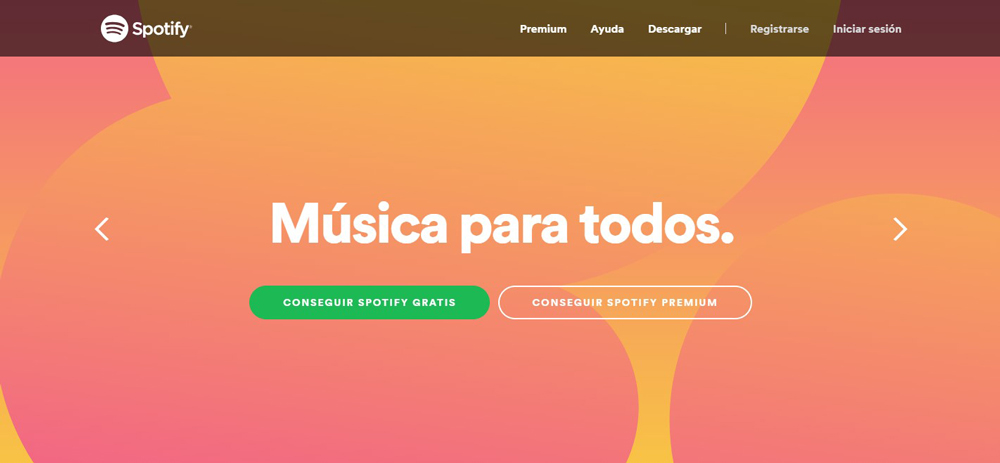 Degradados Spotify