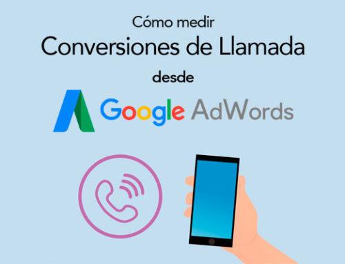 Cómo medir las llamadas en la web desde Google Adwords