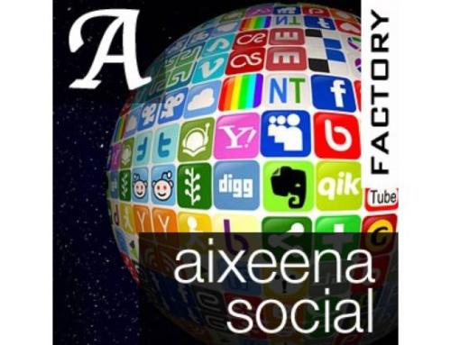 Aixeena Social Profiles Buttons