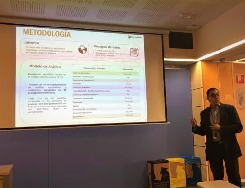 Top Position presenta estudio sobre la usabilidad web en la UPV