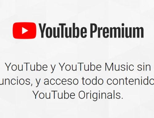 ¿Qué nos ofrece el servicio premium de YouTube?