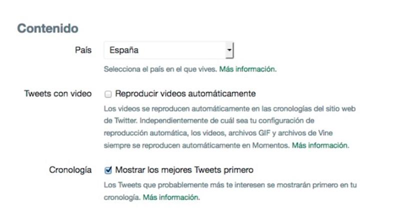 Twitter recula y regresa el timeline cronológico
