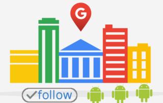 Google pone un botón de follow en fichas de Google Maps