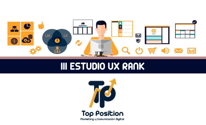PORTADA III ESTUDIO UX RANK