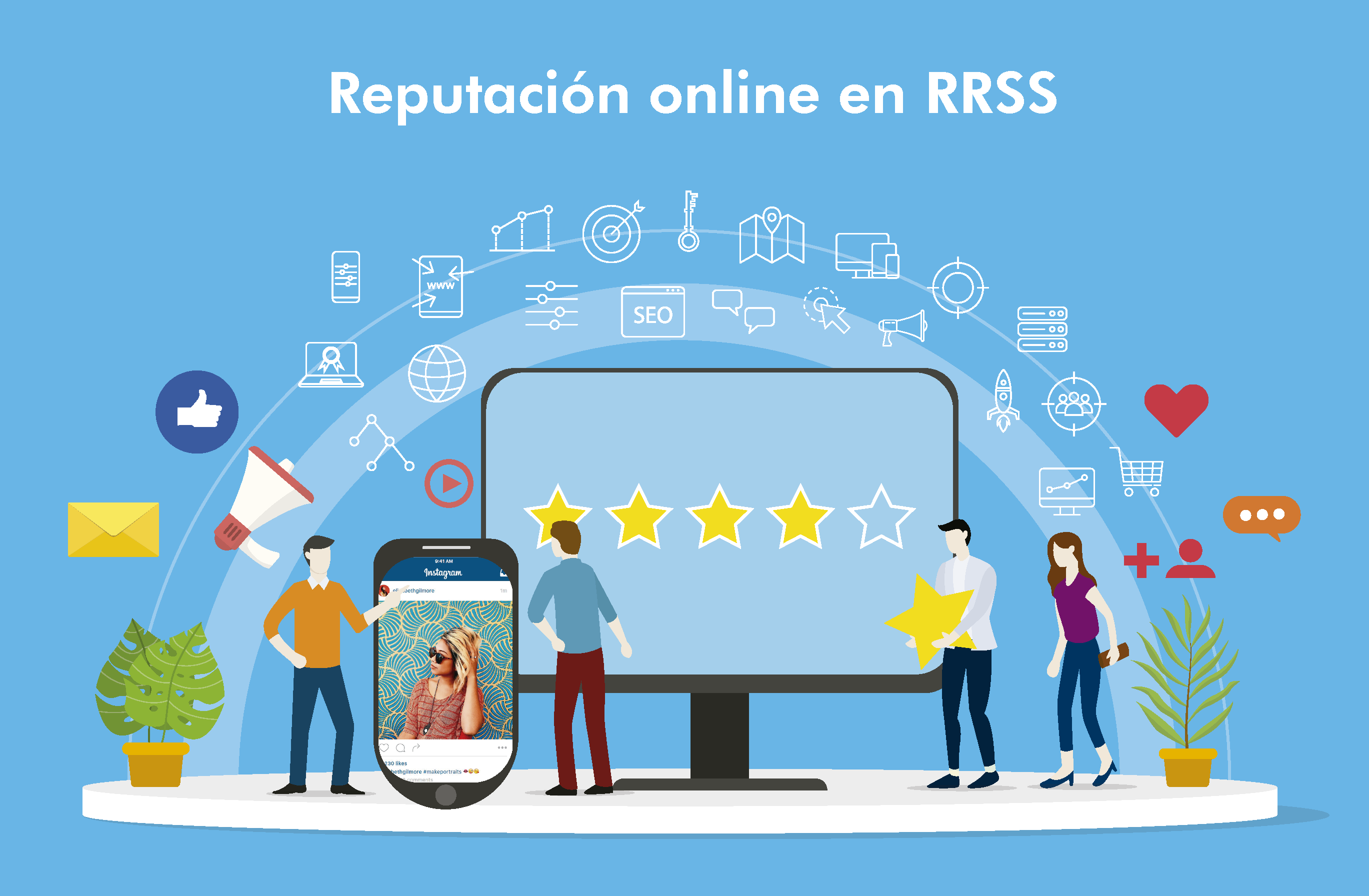 reputacion online y redes sociales