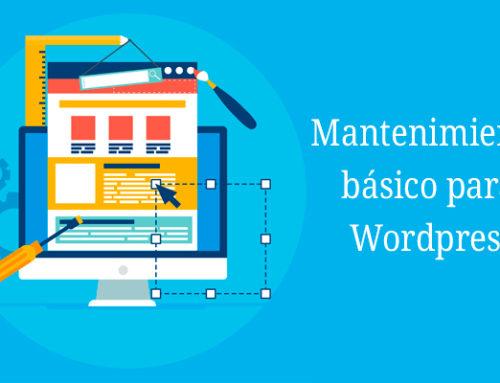 Acciones de mantenimiento básicas para WordPress