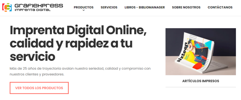 imprenta digital online tenerife