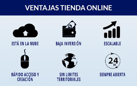 ventajas crear tienda online