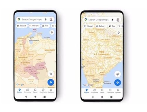 Google Maps incorpora una capa adicional para mostrar los casos de Covid-19