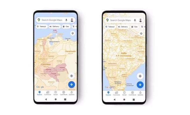 casos covid 19 google maps