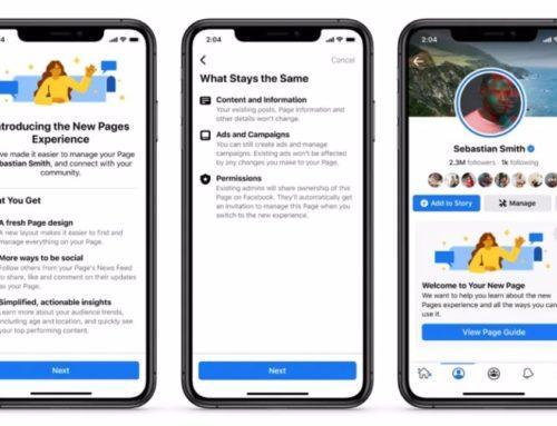Facebook incorpora un 'feed' dedicado en las páginas para descubrir tendencias